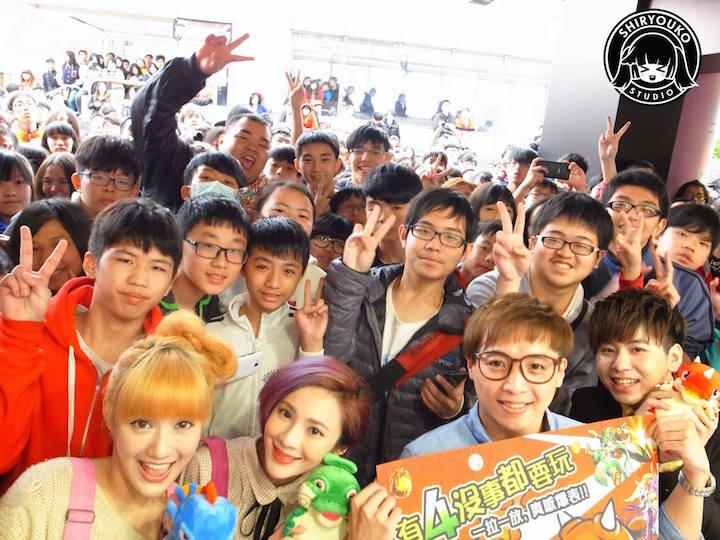 初日は約30,000人が視聴、台北の西門にゲーム実況専門のスタジオ『SHIRYOUKO STUDIO』がオープン
