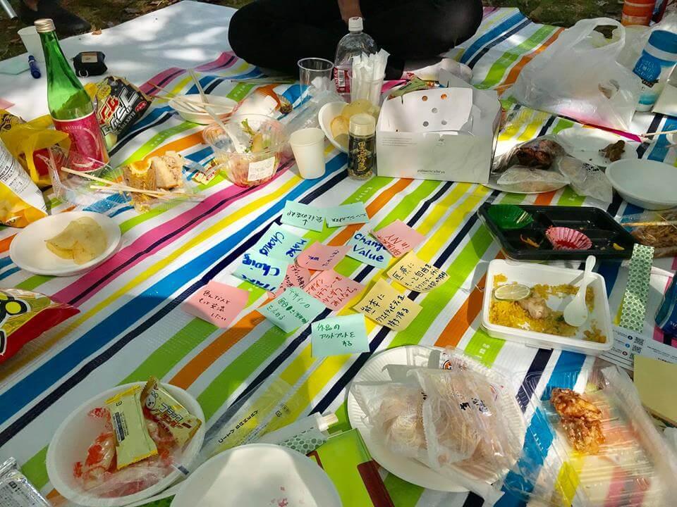 【レポート】Waraku GIG. vol.12 〜春の「これがやりたい!」ブレストピクニック!〜