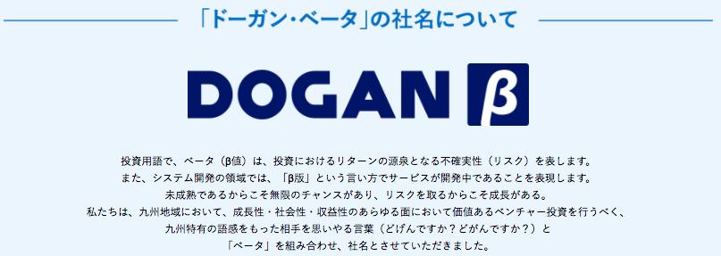 DOGAN β ロゴ